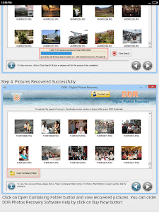 Photos Recovery Software Help screenshot 7