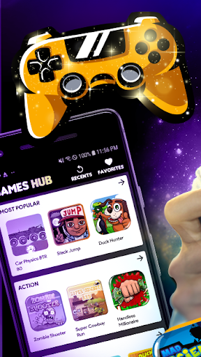 Games Hub - Play Fun Free Games 2.9.25-games screenshots 1