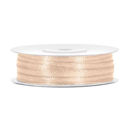 Satinband - Creme 3 mm