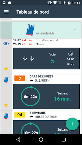 OnTime - Public transport app (apk) free download for Android/PC/Windows screenshot