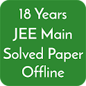 18 Years Jee Main Solved Papers Offline icon