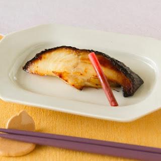 Grilled Black Cod, Saikyo-Style
