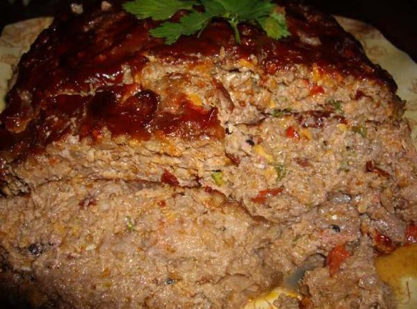 Glazed Stout And Cheddar Meatloaf Recipe