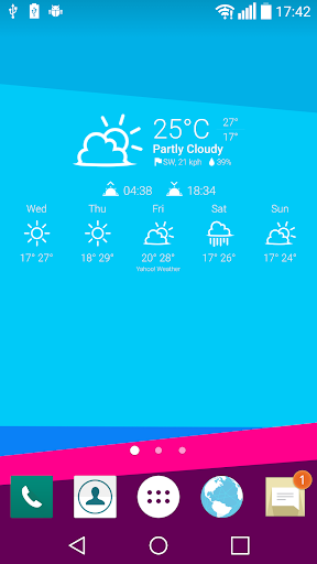 Weather Icons UX 4 for Chronus