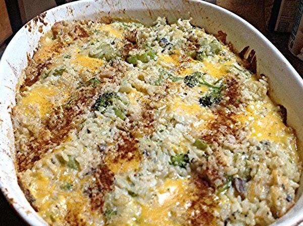 Easy Broccoli Stuff Casserole Recipe