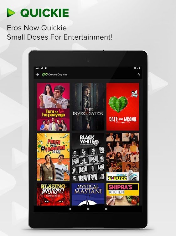 Eros Now - Watch online movies, Music & Originals – (Android