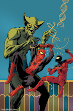 Photo: SUPERIOR SPIDER-MAN TEAM-UP #2 COVER. 2013. Ink(ed by Joe Rivera) on bristol board with digital color, 11 × 17″.