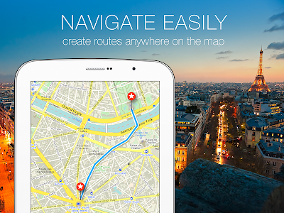 MAPS.ME –Offline Map & Routing v3.3.1