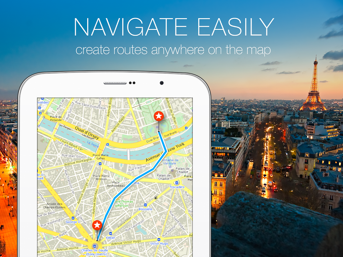 MAPS.ME –Offline Map & Routing - screenshot