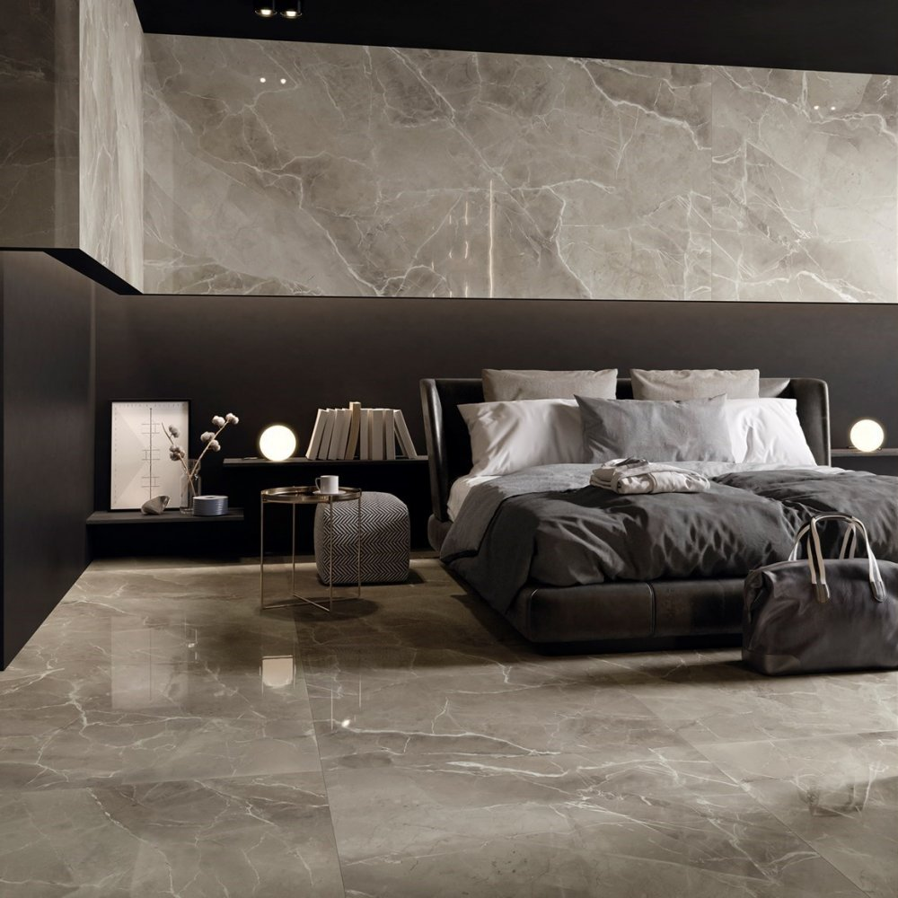 The Marble Bedroom Design adds to the Opulence