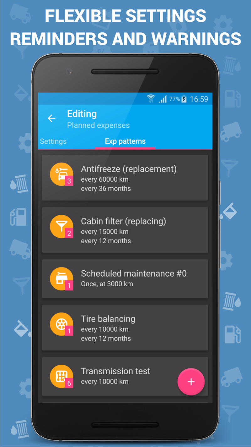 Car Expenses Pro (Manager) Screenshot 6