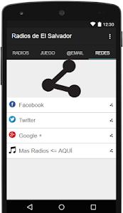 Radios de El Salvador Gratis screenshot 3