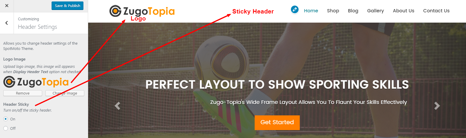 ZugoTopia WordPress Theme Documentation