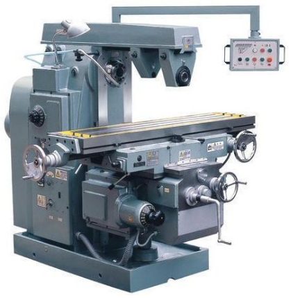 Types Milling Machine
