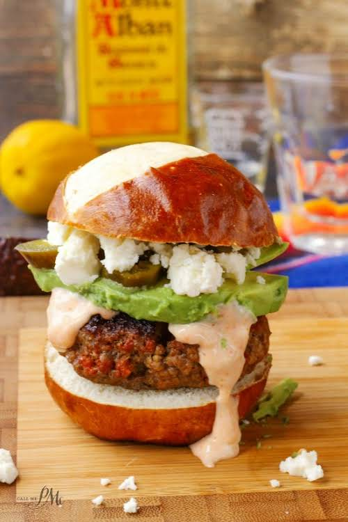 "Beef Chorizo Sliders Recipe ""Ground beef and chorizo sausage are combined in..."