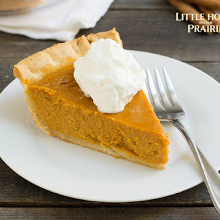 Little House on the Prairie Old Fashioned Pumpkin Pie