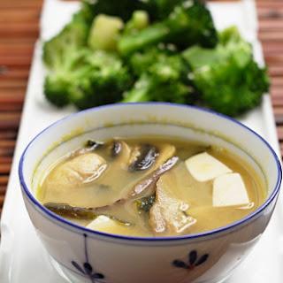Double Mushroom Miso Soup.