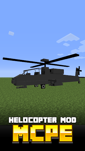 Helicopter MOD For MCPE
