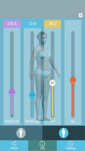 BMI 3D - free BMI Calculator
