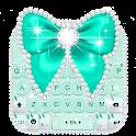 Green Diamond Bow Keyboard Theme icon
