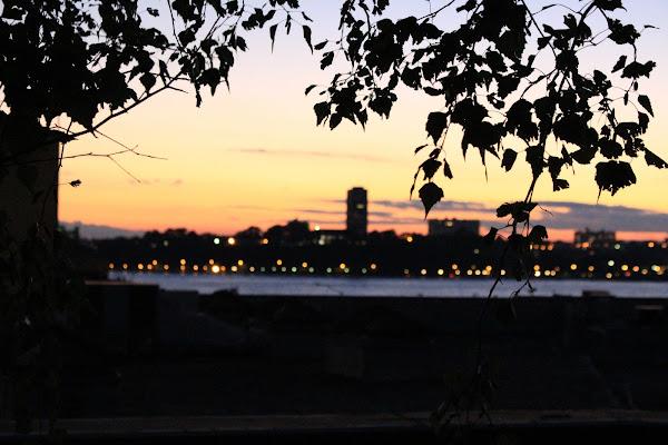 Sunset in Manhattan di Simone