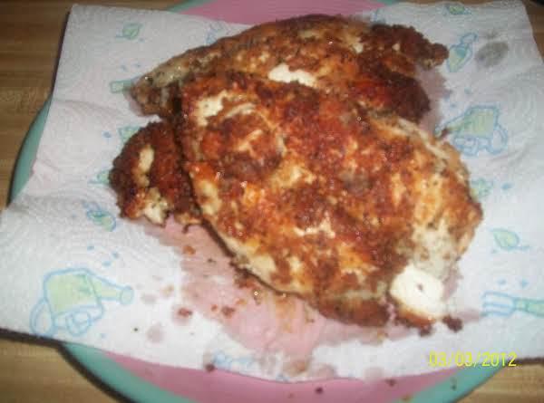Parmigiano Panko Herb Encrusted Chicken Breasts Recipe