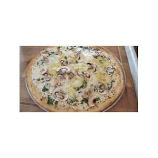 White Pizza With Veggies