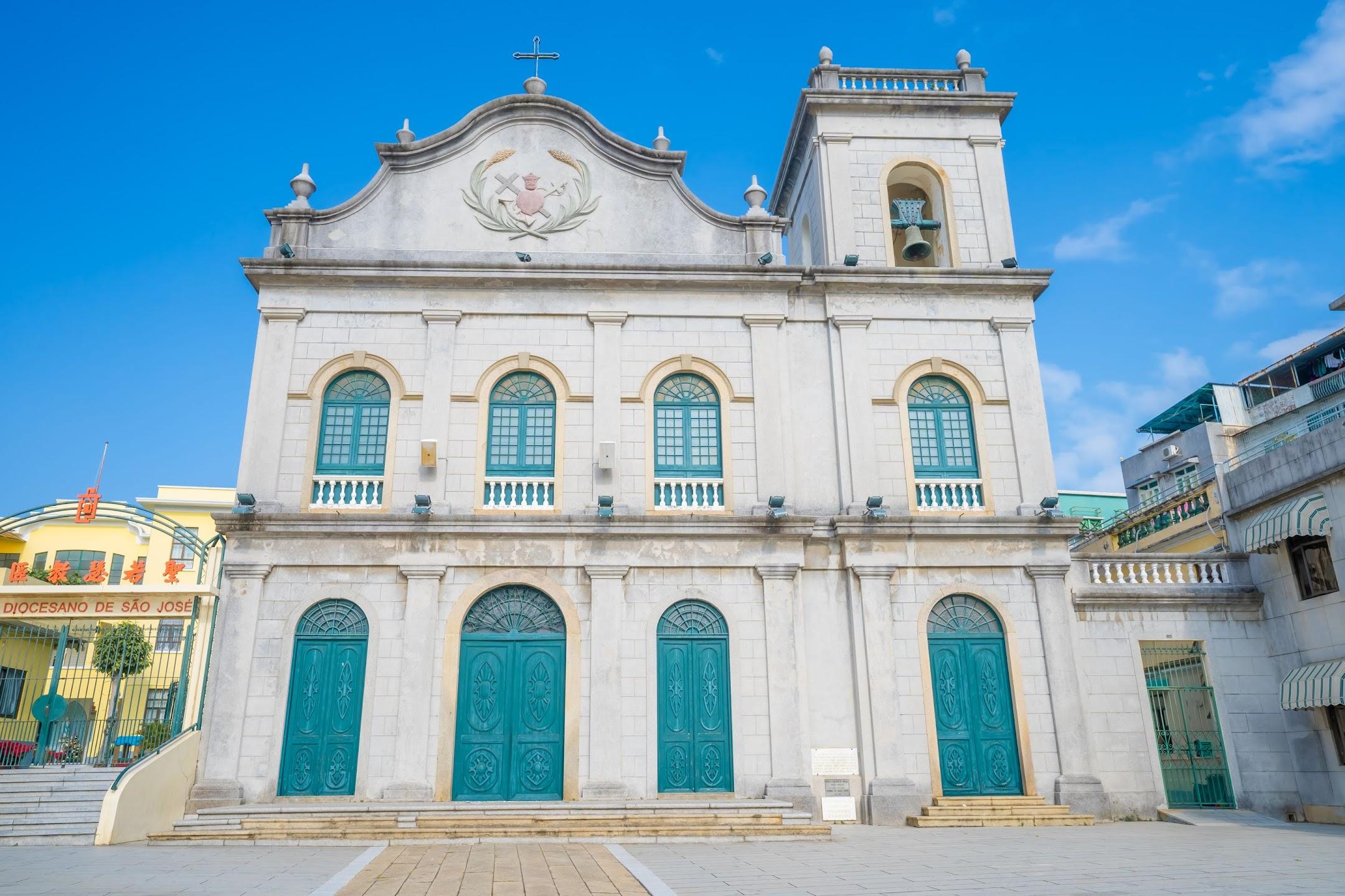 マカオ ラザロ教会