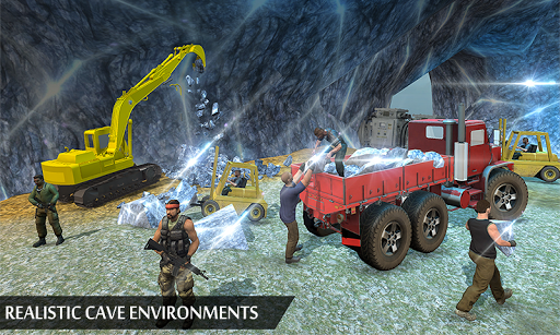 Grand Excavator Simulator - Diamond Mining 3D screenshot 3