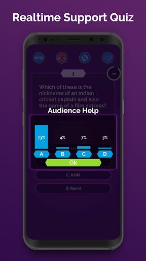 Ultimate KBC 2020 - GK IQ Quiz in Hindi & English  screenshots 2