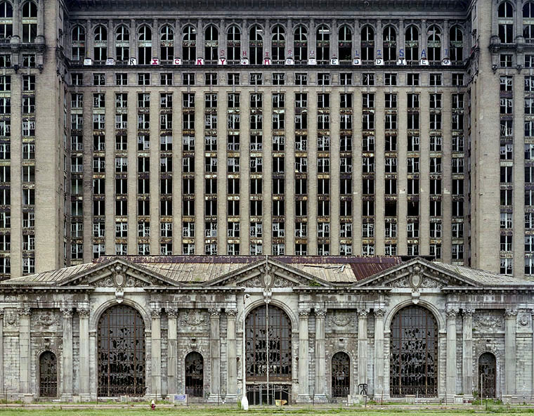 Photo: Michigan Central Station - Photo by Yves Marchand & Romain Meffre