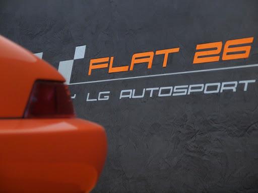 Porsche entretenue par l'atelier Flat 26.