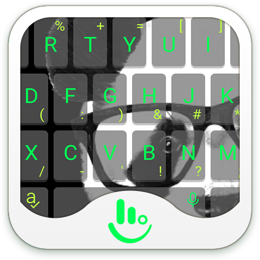 Mr. Panda Keyboard Theme