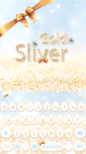 Gold-Sliver-Kika-Keyboard 1