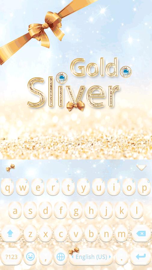 Gold-Sliver-Kika-Keyboard 9