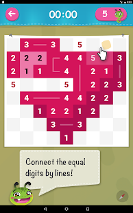 Link-a-Pix ✎ Picture Path Paint by Numbers Puzzle