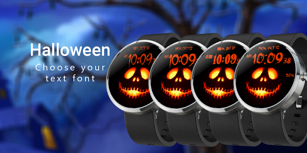 Halloween Watch Face- screenshot thumbnail