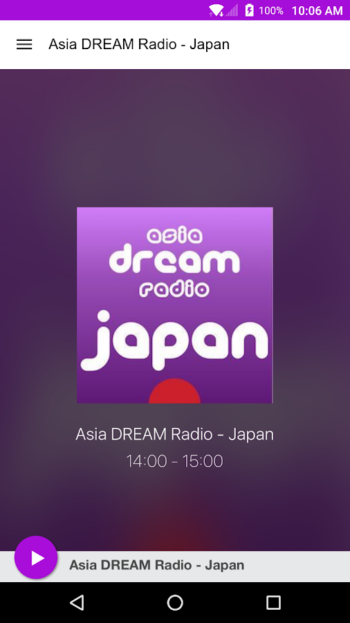 Asia DREAM Radio - Japan- screenshot
