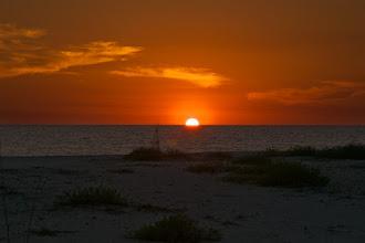 Photo: Beautiful sunset on Sanibel beach