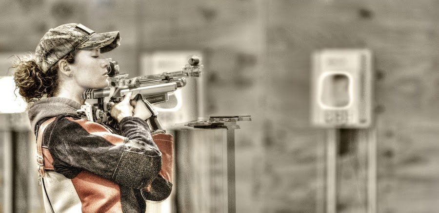 Between Shots by Elk Baiter - Sports & Fitness Other Sports ( quantico, warrior games, marines, marksman, piper, shooting,  )