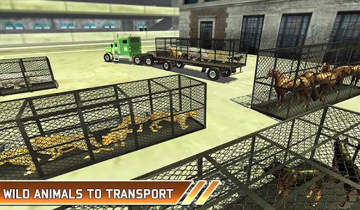Zoo Animal Transport Truck 3D Airplane Transporter filehippodl screenshot 13