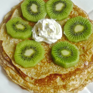 Gluten-Free Rice Flour Pancakes.