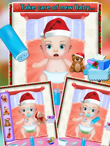 android My New Baby Santa Screenshot 2