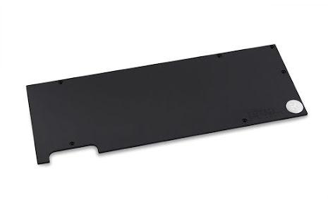 EK bakplate for EK-FC1080 GTX Ti Backplate - Black