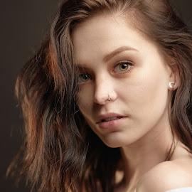 Miss K. by Michaela Firešová - People Portraits of Women ( beautiful, female, portrait )