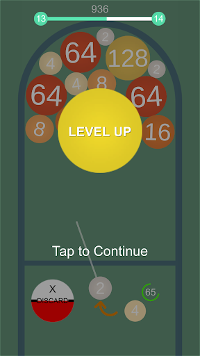 2048 Balls - Merge 3D Balls  captures d'écran 2