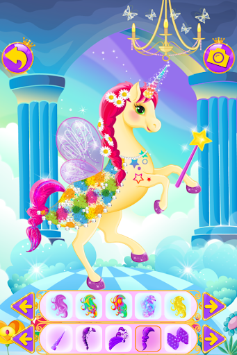 Unicorn Dress Up - Girls Games  {cheat|hack|gameplay|apk mod|resources generator} 4
