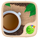 Coffee Lover GO Keyboard Theme 3.87 Apk