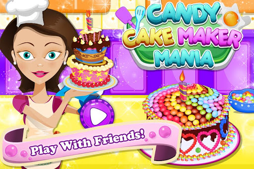 Candy Cake Maker Mania