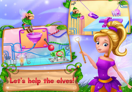 Tooth Fairy Princess: Cleaning Fantasy Adventure 2